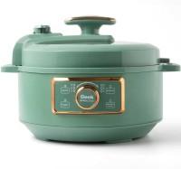 Geek Robocook Glam Smart Rice Cooker, Electric Pressure Cooker, Food Steamer, Slow Cooker, Travel Cooker(3 L, Teal)