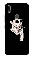 SmartPhons Back Cover for Vivo Y95, Vivo Y93, Vivo Y91, Vivo 1811, Vivo 1814, Vivo 1815, Vivo 1816, Vivo 1817, Vivo 1820, Vivo 1807(Black, Hard Case)
