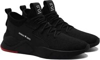 Axter Exclusive Range of Stylish Casual Walking Comfortable Sports Shoes Running Shoes For Men Running Shoes For Men(Black)