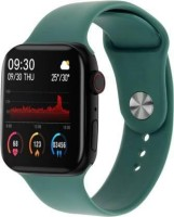 Tempus T500 Bluetooth Call Heart Rate Smartwatch(Green Strap, Free Size)