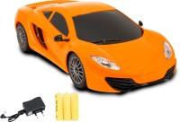 Miss & Chief Mini Racing 4 Channel RC Car(Orange)