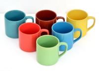 Bobby Designs Pack of 6 Ceramic Crocktree Ceramic Handmade Glossy Multi-Color Stylish & Designer Tea/Coffee Cups Set of 6.(Multicolor)