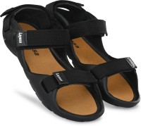 Layasa Men Black Sandals