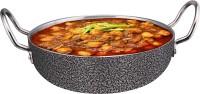 LooksGood INDIAN Premium Range Of Aluminium Fry Pan Kadhai 23 cm diameter 3.01 L capacity(Aluminium, Induction Bottom)