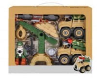 PEZYOX Vehicles Set - Assembly Toy Farm Truck Construction Set, Building Vehicle Play Set with Screwdriver, Toy for 3 Year Old Child (Multicolor)...(Multicolor, Pack of: 1)
