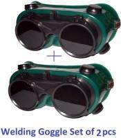 Qualigen Heavy duty Goggles Welding Safety Goggle Pack of 2pc Heavy duty Goggles Welding Safety Goggle Pack of 2pcs (Free-size) Welding  Safety Goggle(Free-size)