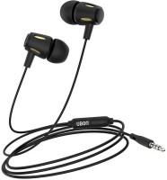Ubon UB-770 Wired Headset(Black, In the Ear)