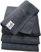 SOFTSPUN Microfiber Vehicle Washing  Cloth(Pack Of 4, 340 GSM)