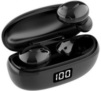 Grostar HKT-6 Wireless Earpiece Bluetooth 5.0 Earbuds with Mic Bluetooth Headset MP3 PLAYERS MP3 Player(Silver, 0 Display)