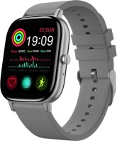 Truee Gen-X Talk Full Touch Bluetooth Calling Smartwatch(Grey Strap, Free Size)