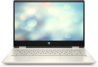 HP Pavilion x360 Core i3 10th Gen - (8 GB/512 GB SSD/Windows 10 Home) 14-dh1502TU 2 in 1 Laptop(14 inch, Warm Gold, 1.585 kg, With MS Office)