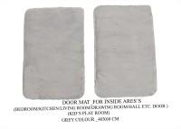 NRJ WORLD Silk Floor Mat(Grey, Medium)