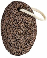 High Profile Oval Shaped Pumice Stone For Feet, Foot Dead Skin Remover With Rubber Grip Pedicure Tool For Women & Men (Pack of 1)