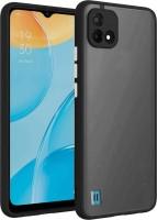 Lilliput Back Cover for Realme C20(Black, Grip Case)