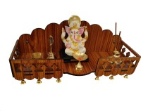 Wallwey décor 029G Engineered Wood Home Temple(Height: 15.3, DIY(Do-It-Yourself))