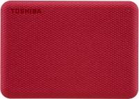 TOSHIBA Canvio Advance 2 TB External Hard Disk Drive(Red)
