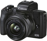 Canon EOS M50 Mark II Mirrorless Camera EF-M15-45mm 1;3.5-6.3 IS STM 1N(Black)