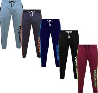 Fashionate World Track Pant For Boys(Multicolor, Pack of 5)