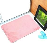 NRJ WORLD Silk Door Mat(Pink, Large)