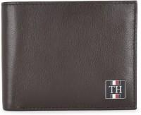 TOMMY HILFIGER Men Casual Brown Genuine Leather Wallet(4 Card Slots)
