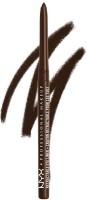 NYX Makeup Retractable Eye Liner Brown 0.34 g(Brown)