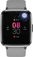 boAt Storm Smartwatch(Grey Strap, Regular)