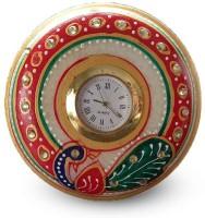 GORANSHI HANDICRAFTS Analog White Clock