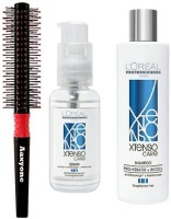 Aaxyone Hair Brush and LOreal Xtenso Shampoo and Serum New Packing 100% Original(3 Items in the set)