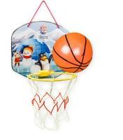 RATNA'S Cartoon Basketball Polar theme indoor & outdoor basketball toy for kids. Basketball