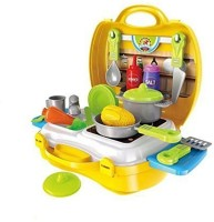 Raj Attractive Dream Kitchen Set Cooking Pretend Play Toys for Kids