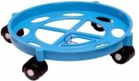 Dhrumi Gas Cylinder Trolley with Wheels | | LPG Cylinder Stand (Blue) Gas Cylinder Trolley (Blue) Gas Cylinder Trolley(Blue)