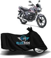 BLUERIDE Two Wheeler Cover for Honda(CB Shine, Black)