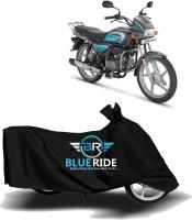 BLUERIDE Two Wheeler Cover for Hero(MotoCorp Splendor Plus, Black)