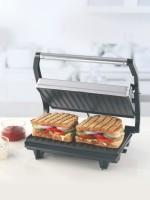 BOROSIL PRIME GRILL SANDWICH MAKER Grill, Toast(Silver, Black)