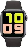 Home Story Black Smart Sport Band 42 mm Smartwatch(Black Strap, FREE SIZE)