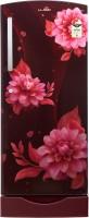 Lloyd 225 L Direct Cool Single Door 3 Star Refrigerator with Base Drawer(Begonia Wine, GLDF243SBWS2PB)