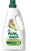Nimwash Vegetable & Fruit Wash I 100% Natural Action, Removes Pesticides & 99.9% Germs, with Neem and Citrus Fruit Extracts, Safe to use on veggies and fruits | Cleans veggies & fruits(1 L)