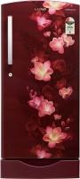 Lloyd 200 L Direct Cool Single Door 2 Star Refrigerator with Base Drawer(Gardenia Wine, GLDC212SGWS2PB)