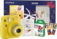 FUJIFILM Instax Treasure Box Mini 9 Instant Camera(Yellow)