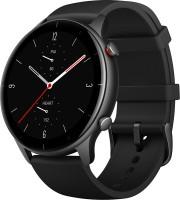 Amazfit GTR 2e Smartwatch(Black Strap, Regular)