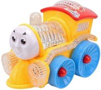 IMPEX Funny Loco Musical Toy Train With Flashing Lights, Bump And Go Action(Multicolor, Pack of: 1)
