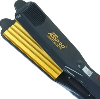 Abs Pro ABS 1100 Professional Hair Crimper With 4 X Protection Coating Gold Women's Crimping Styler Machine for Hair Saloon 4 X Protection Gold Coating Electric Hair Styler curler Corded Crimper Hair Styler(Black, Yellow)