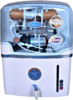 Aqua Fresh NYC WH COPPER+ALKALINE+RO+UV+TDS 15 L WHITE AUTOMATIC ELECTRICAL BOREWELL 1500 TDS BEST HOME WATER PURIFIER 15 L 15 L RO + UV Water Purifier(White, Blue)