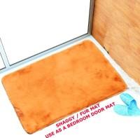 NRJ WORLD Silk Floor Mat(Beige, Medium)