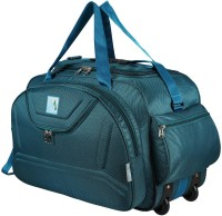 MEDLER (Expandable) DUFFEL_EPOCH-TURQUOISE Waterproof 55 litres Duffel With Wheels (Strolley)