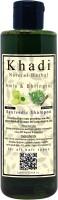 khadi natural herbal Amla & Bringraj Shampoo 200 ml - Paraben Free Organic Shampoo(200 ml)