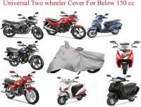 Mobidezire Two Wheeler Cover for Hero(MotoCorp Super Splendor, Silver)