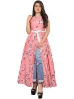 Westernress Women A-line Pink Dress