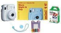 FUJIFILM Instax Instax Mini 11 Starter Kit Instant Camera (White) Instant Camera(White)