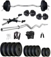 Mahadev Sports 20 Kg Pvc Home Gym Set Gym & Fitness Kit